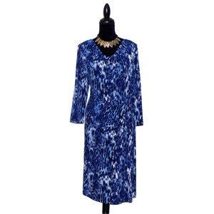 NWOT Jones New York Drape Neck Dress